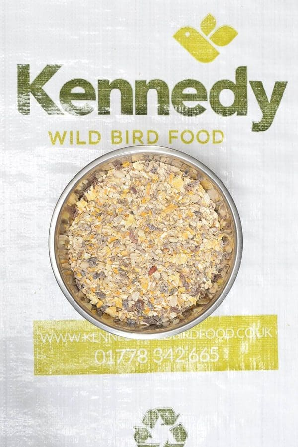 High energy ground food bird seed