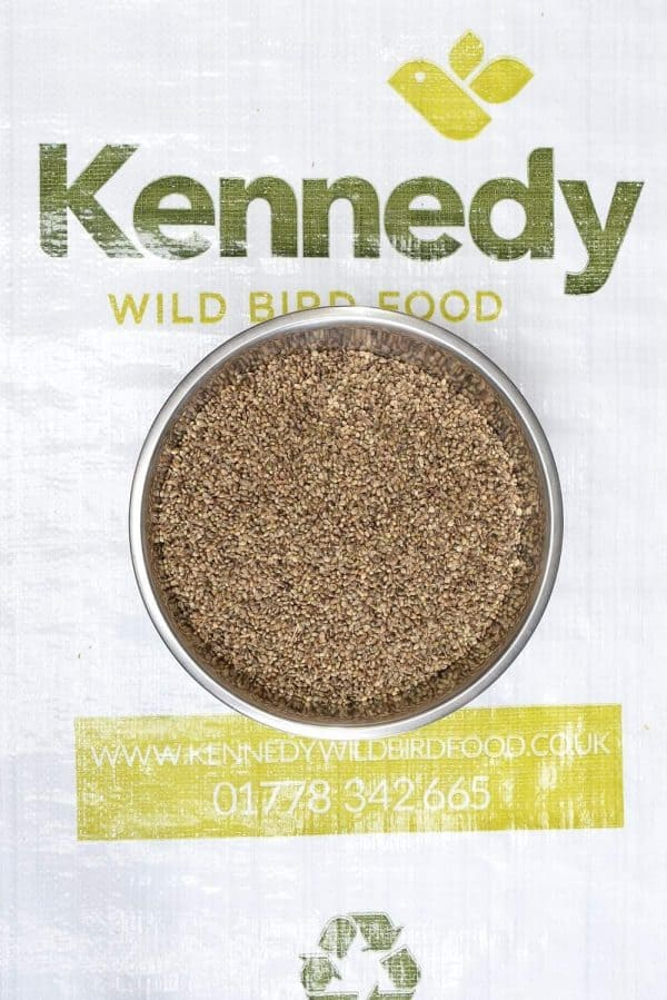 Hemp seed bird food