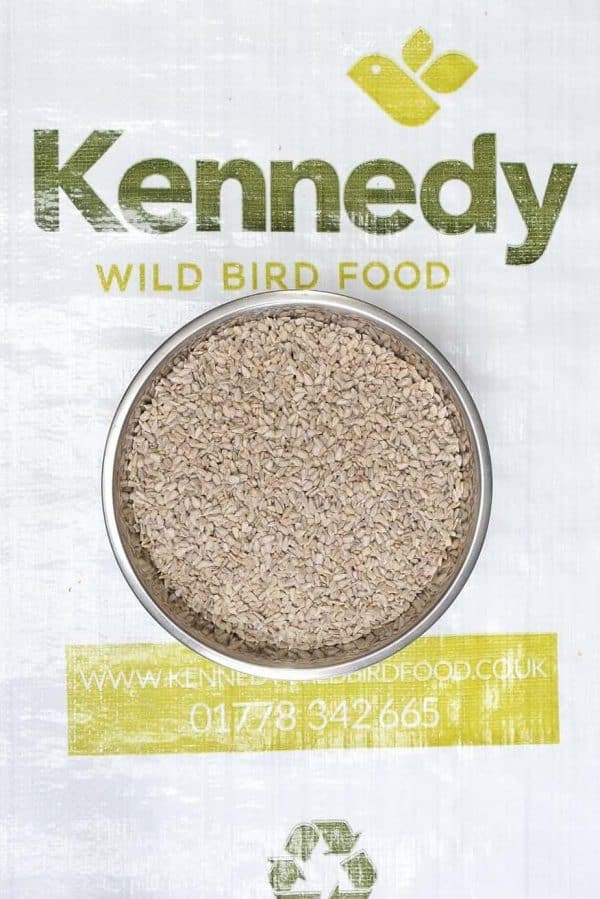 Sunflower hearts bird food