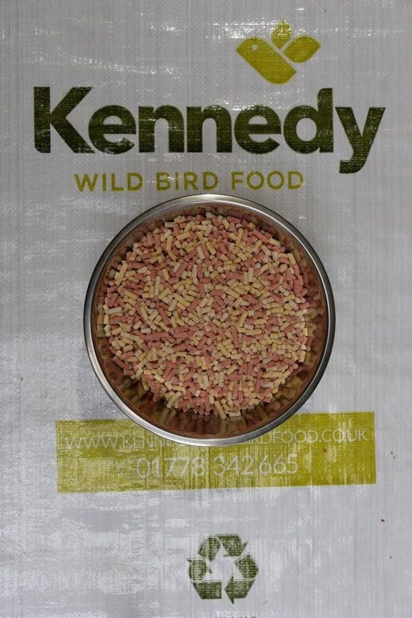 Suet pellets mixed bird food